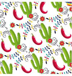 Mexican culture mexico cartoon vector