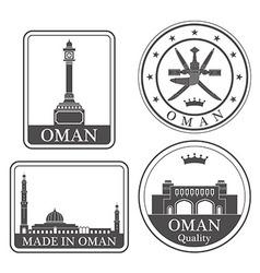 Oman vector