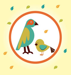 Pet design over yellow background vector