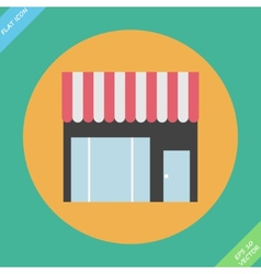 Storefront icon - vector