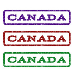 Canada watermark stamp vector