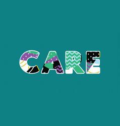Care concept word art vector
