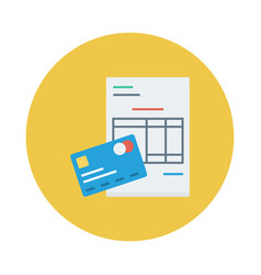 Credit payment vector