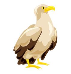 eagle icon cartoon style vector image