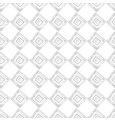hand drawn geometric seamless pattern vector image