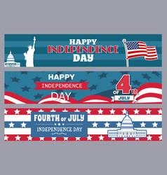 happy independence day stpires vector image