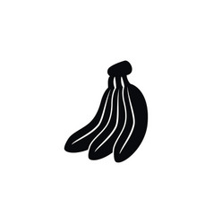 isolated tasty icon banana element can be vector image
