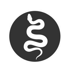 Snake sign vector