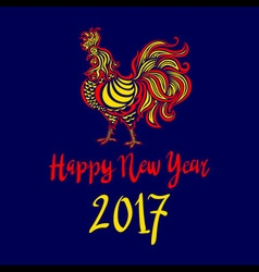 2017 Chinese New Year of the Rooster file vector
