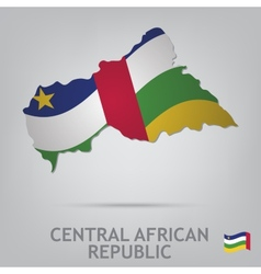 Central african republic vector