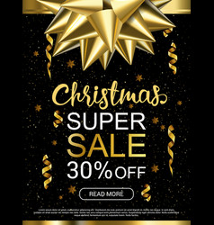 Christmas sale advertising banner popular banners vector