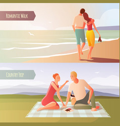 dating in the wild set vector image