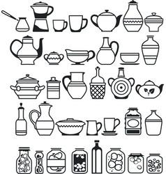 Kitchen stuff5 vector
