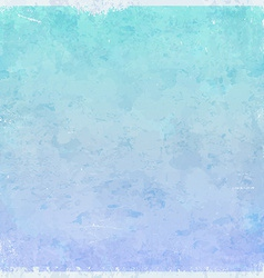 Winter ice themed grungy background vector image vector image