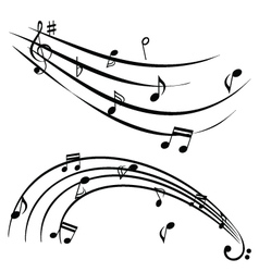 musical graphic vector image vector image