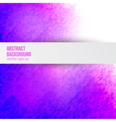 abstract background Triangle and geometric vector image