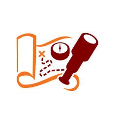 adventure logo vector image