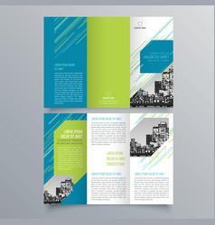 brochure design 885 vector image