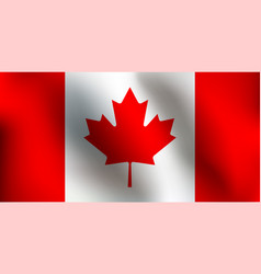 Flag of canada vector