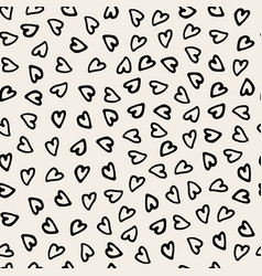 hand drawn pattern seamless vector image