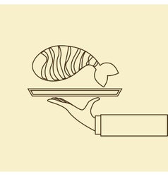 Japanese food design vector