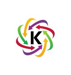 Online marketing business distribution k vector