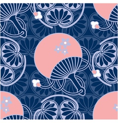 Oriental Seamless Tile vector
