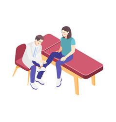 Orthopedics clinic vector