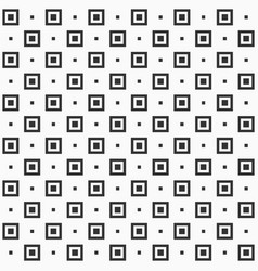 seamless pattern repeating geometric square tiles vector image