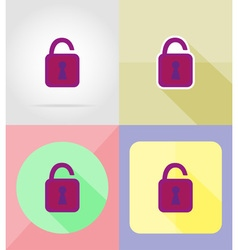 service flat icons 12 vector image vector image