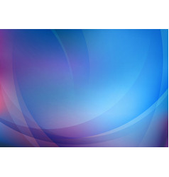 abstract curved blue background vector image