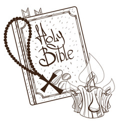 Bible figures for gaming applications books vector