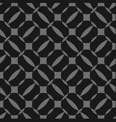 black and grey geometric seamless pattern simple vector image