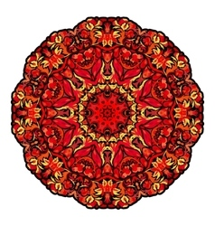 Flower Mandalas Vintage decorative elements vector
