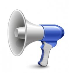 megaphone loudspeaker vector image