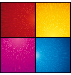 techno backgrounds vector image vector image