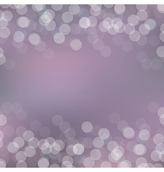 Violet Card With Bokeh vector