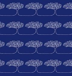 Sketch African tree vector image vector image