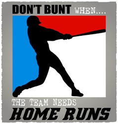 batter baseball vector image vector image