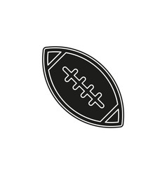 american football - sport icon rugby symbol vector image