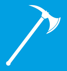 ax icon white vector image