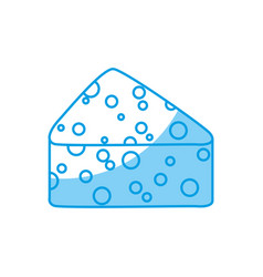 Cheese icon image vector