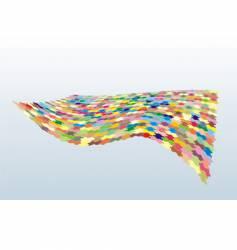 Color puzzle vector