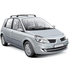 french silver mpv vector image