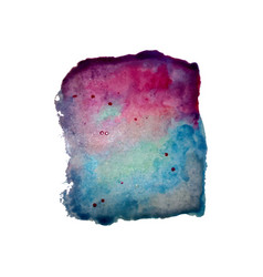 hand painted abstract watercolor background vector image