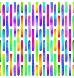 Jelly gummy worms cartoon seamless pattern vector