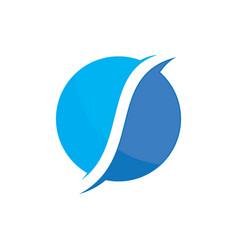 planet globe sphere color logo image image vector image