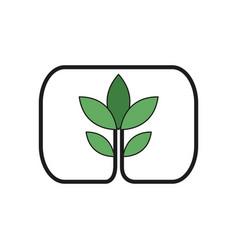 Plant ecology nature environment concept vector
