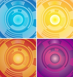 technology abstract vector image