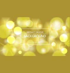 Vivid sparkling golden background vector